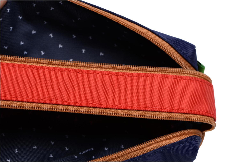 Trousse double Polo Bleu/Rouge