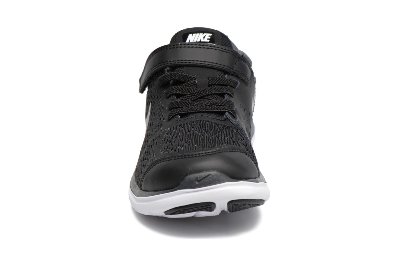 Nike Flex 2017 Rn (Psv) Black/Metallic Silver-Anthracite-White