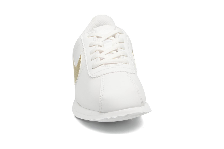 Baskets Nike Cortez Basic Sl (Ps) Blanc vue portées chaussures