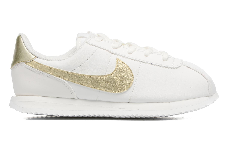 Baskets Nike Cortez Basic Sl (Ps) Blanc vue derrière