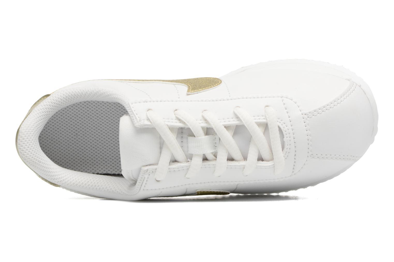 Baskets Nike Cortez Basic Sl (Ps) Blanc vue gauche