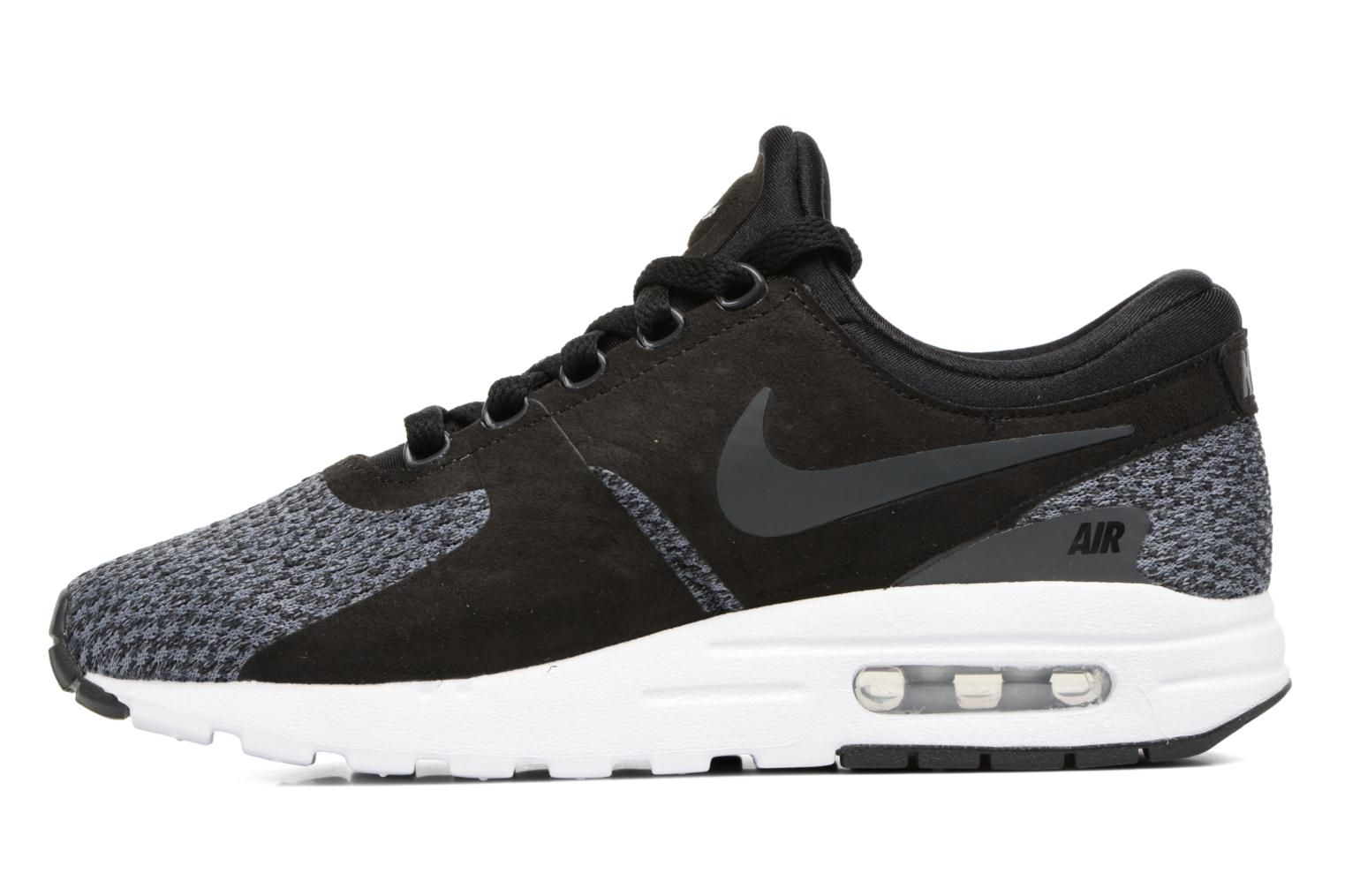 Baskets Nike Nike Air Max Zero Se (Gs) Noir vue face