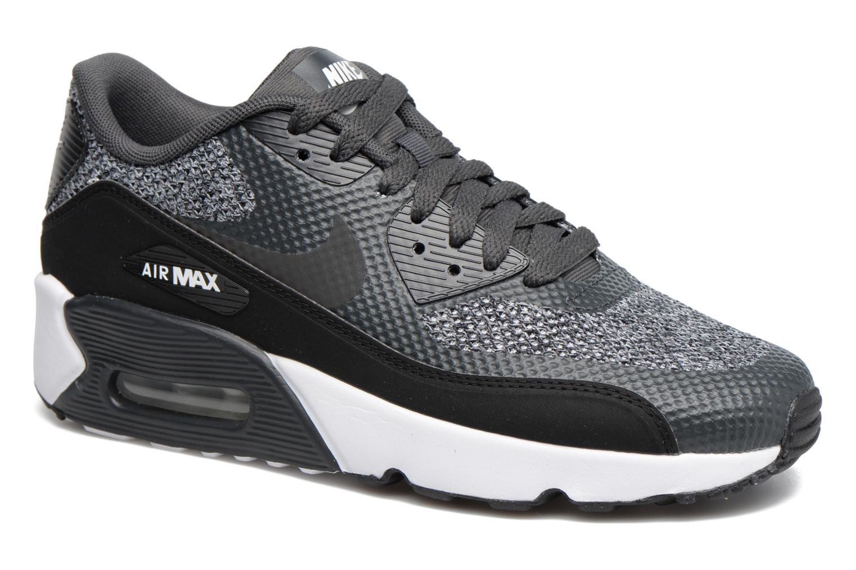 Baskets Nike Air Max 90 Ultra 2.0 Se (Gs) Gris vue détail/paire