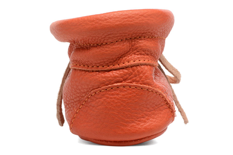 Chaussons Hippie Ya Booties Orange vue droite