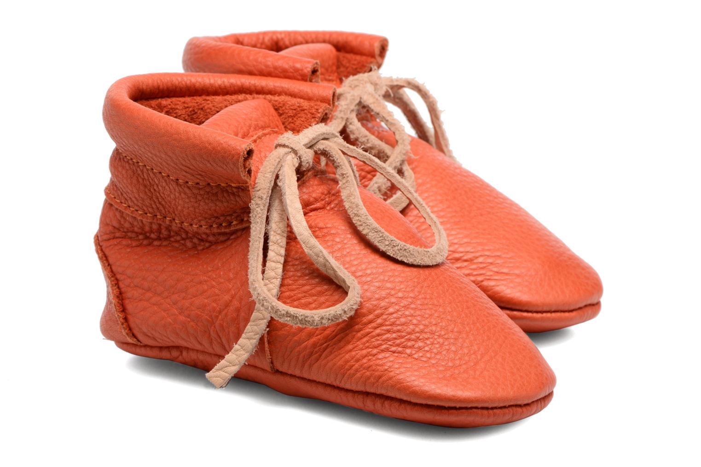 Chaussons Hippie Ya Booties Orange vue détail/paire