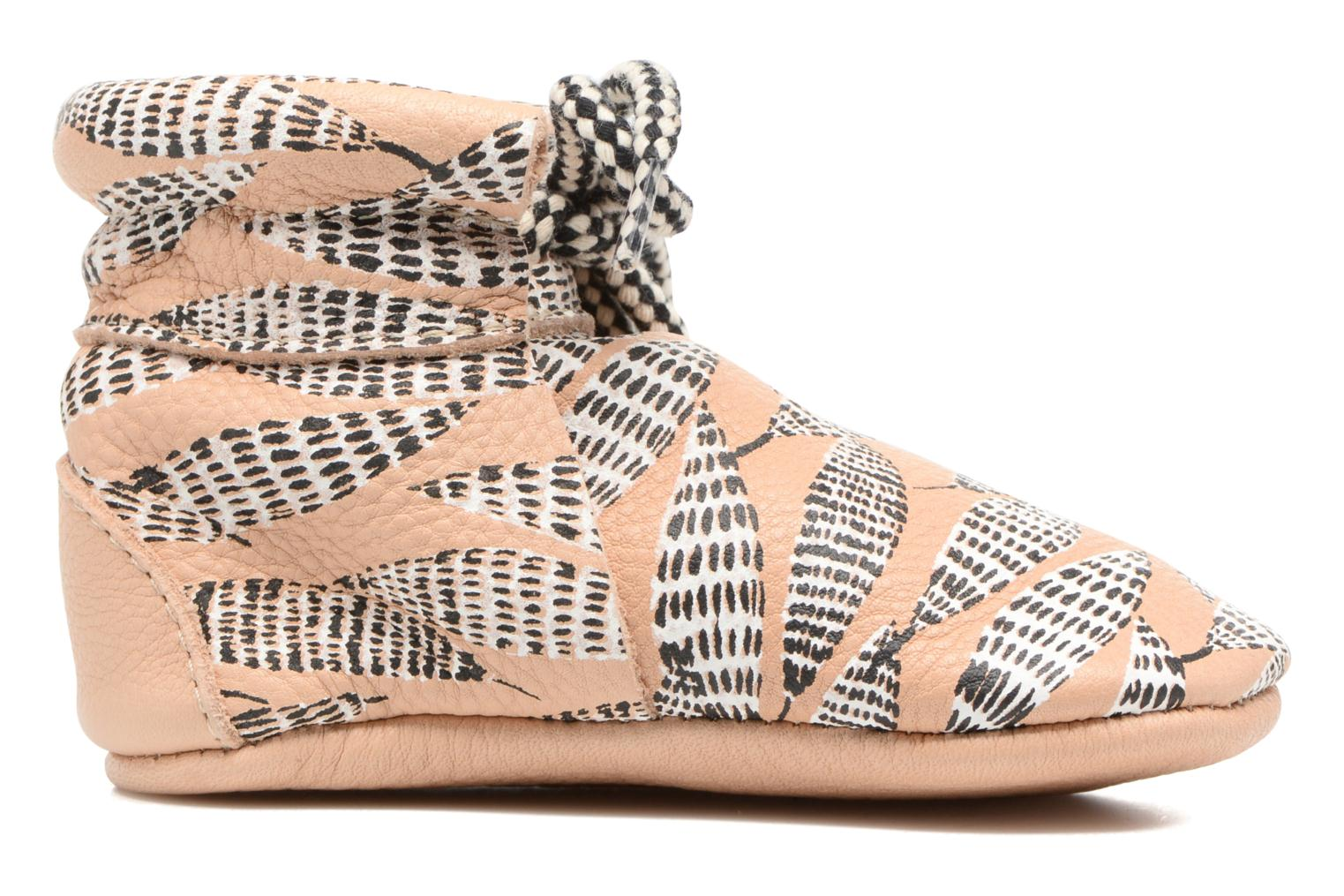 Pantofole Hippie Ya Booties Collab HY & Moumout Beige immagine posteriore