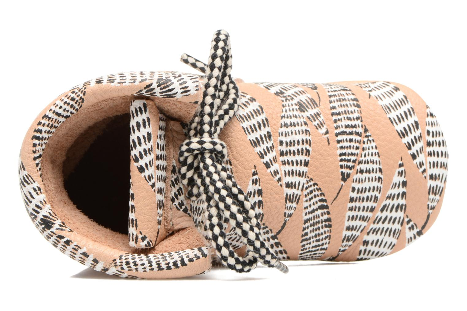 Pantofole Hippie Ya Booties Collab HY & Moumout Beige immagine sinistra