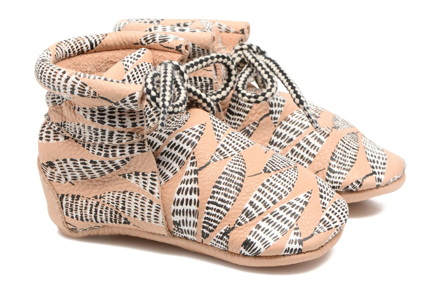 Booties Collab HY & Moumout Printed Craie