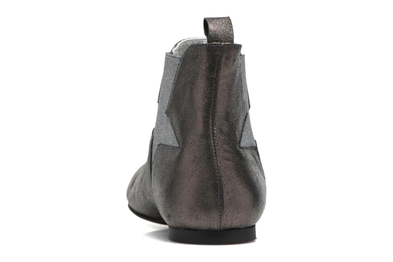 Bottines et boots Ippon Vintage Easy Fun Argent vue droite