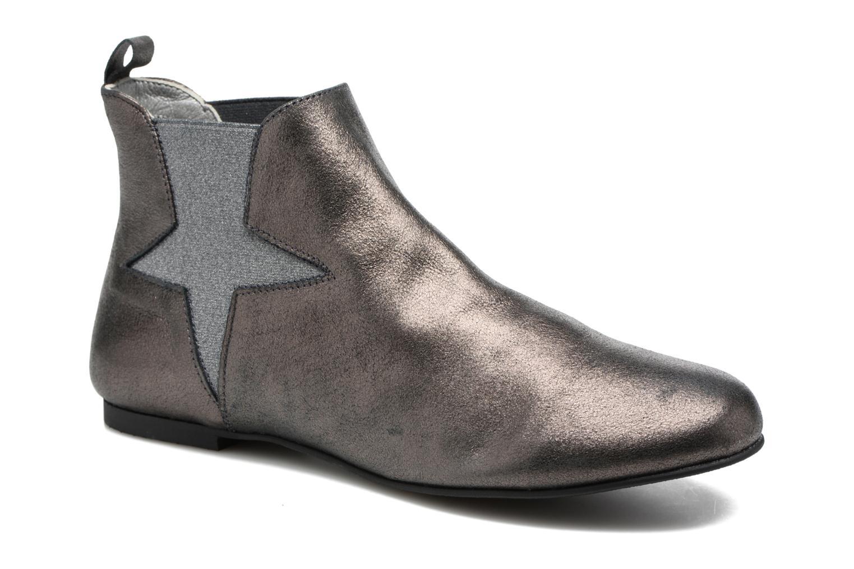 Bottines et boots Ippon Vintage Easy Fun Argent vue détail/paire