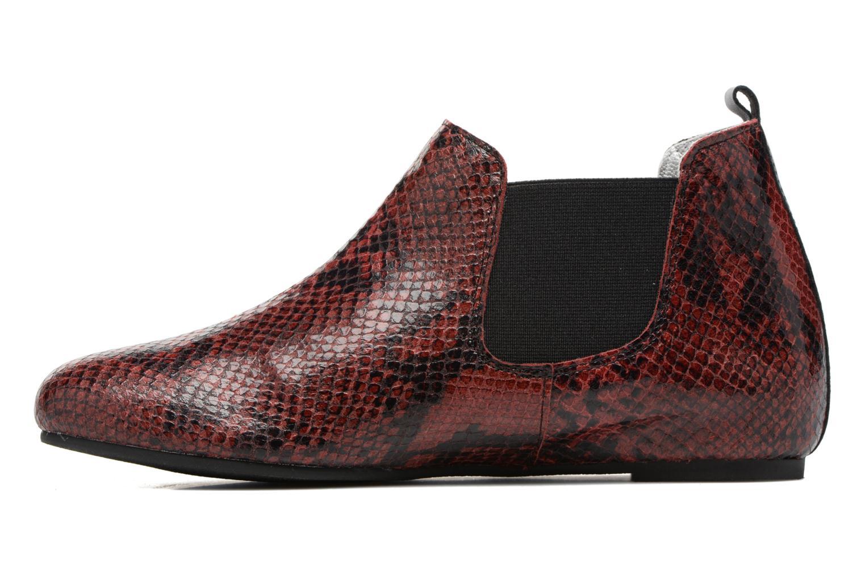 Bottines et boots Ippon Vintage Cult snake Bordeaux vue face