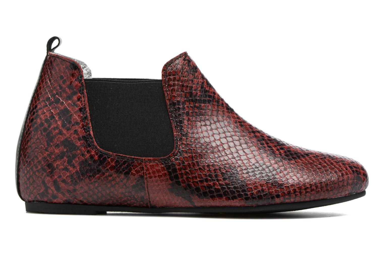Bottines et boots Ippon Vintage Cult snake Bordeaux vue derrière