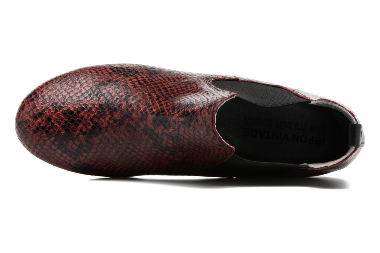 Bottines et boots Ippon Vintage Cult snake Bordeaux vue gauche