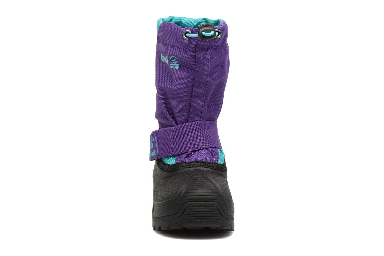 Chaussures de sport Kamik Snowfox Violet vue portées chaussures