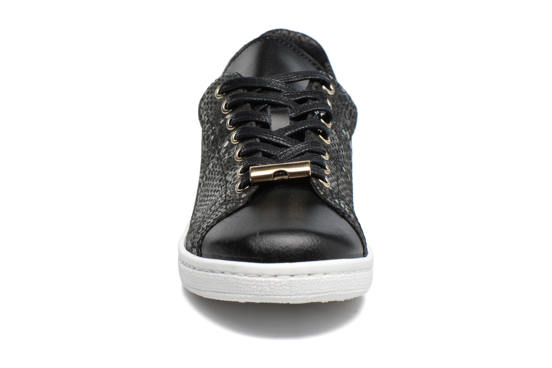 Baskets Georgia Rose Sapython Noir vue portées chaussures