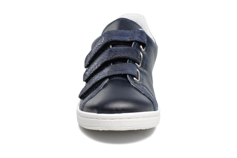 Baskets Georgia Rose Salona Bleu vue portées chaussures