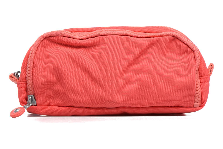 Scolaire kipling GITROY Trousse 3 compartiments Rouge vue face