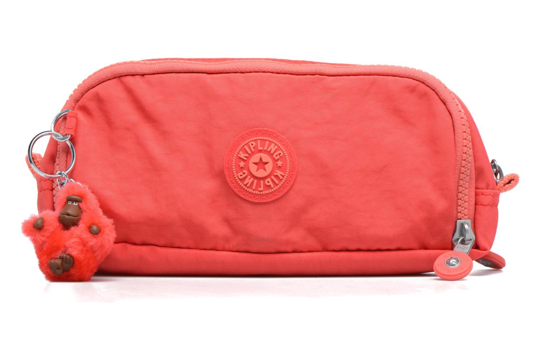Scolaire kipling GITROY Trousse 3 compartiments Rouge vue détail/paire