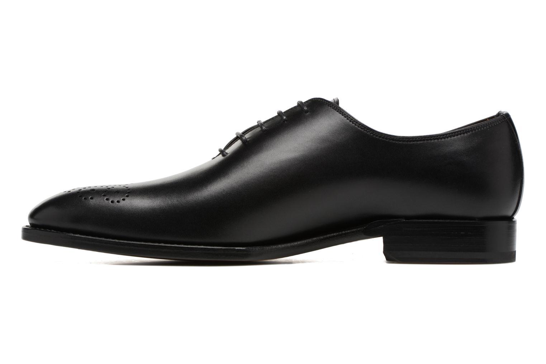 Chaussures à lacets Marvin&Co Luxe Waller - Cousu Goodyear Noir vue face