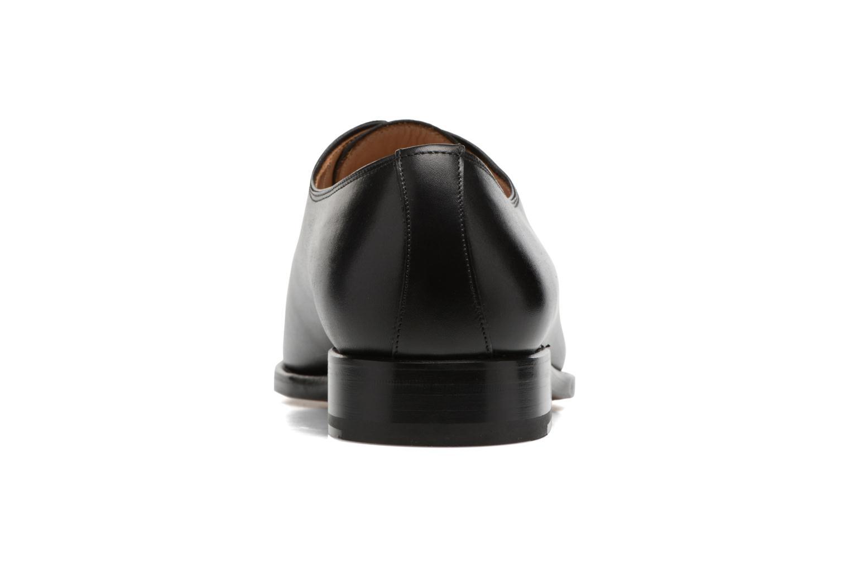 Chaussures à lacets Marvin&Co Luxe Waller Noir vue droite