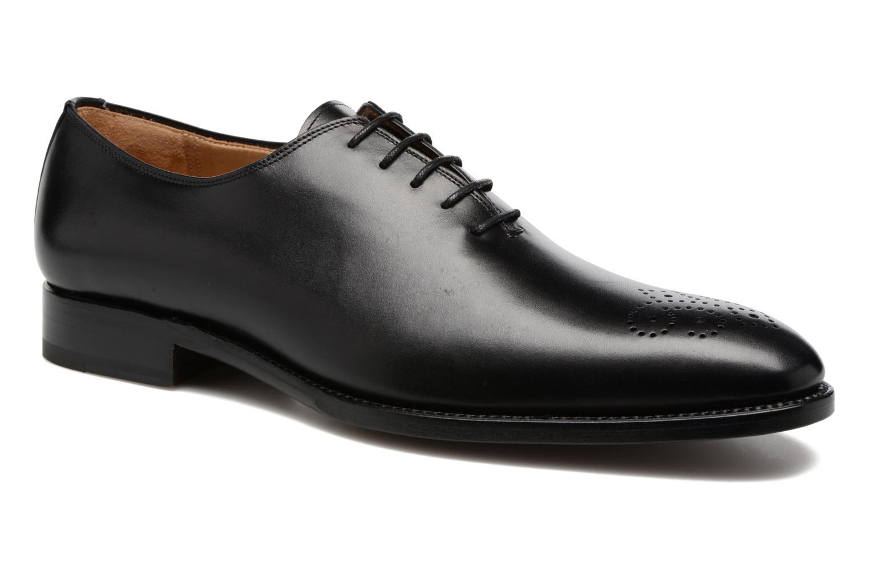 Chaussures à lacets Marvin&Co Luxe Waller Noir vue détail/paire