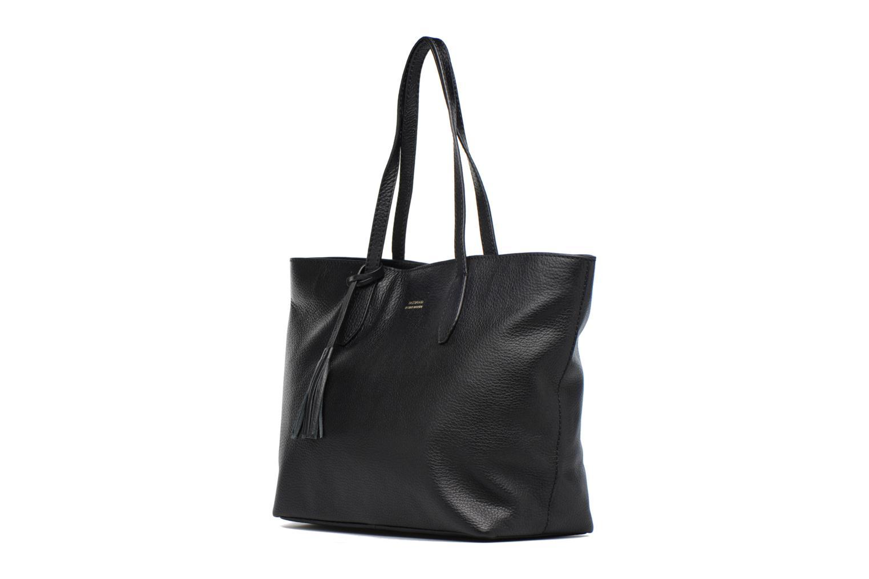 Sacs à main Loxwood Cabas Shopper Porté épaule Noir vue portées chaussures