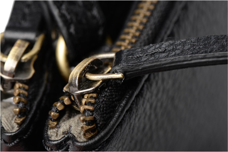 Sacs à main Loxwood Double Zip Crossover Noir vue gauche
