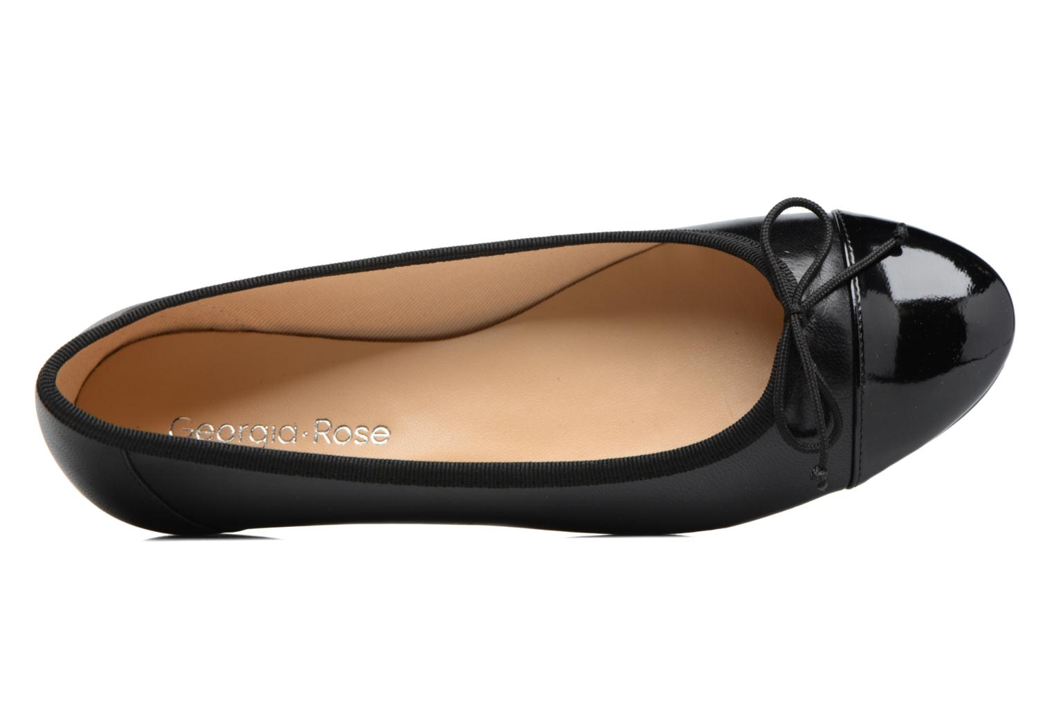 Ballet pumps Georgia Rose Sixties Black view from the left
