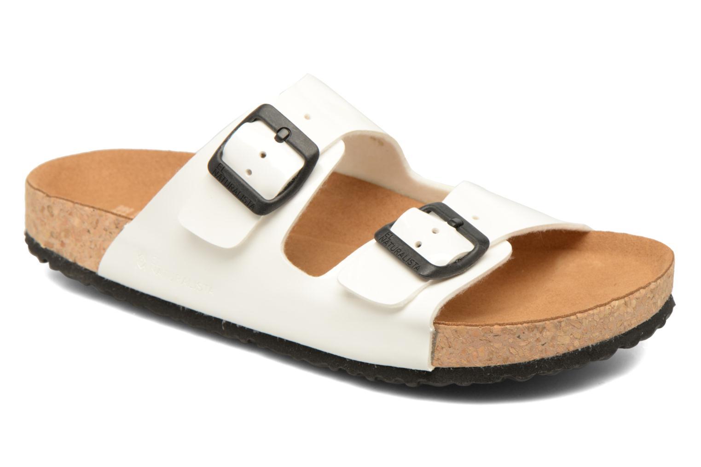 Grandes descuentos últimos zapatos El Naturalista Waraji NE60 (Blanco) - Zuecos Descuento