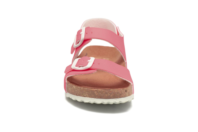 Sandales et nu-pieds El Naturalista Waraji NE67 Rose vue portées chaussures