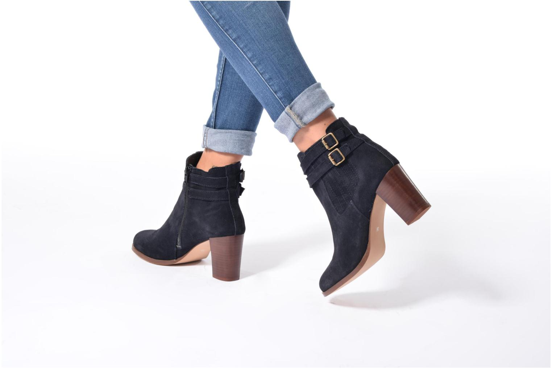 Bottines et boots Georgia Rose Cepari Bleu vue bas / vue portée sac