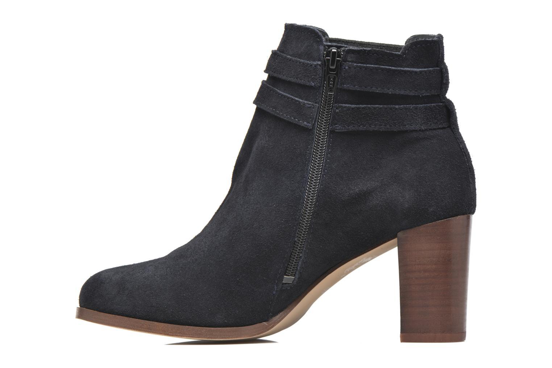 Bottines et boots Georgia Rose Cepari Bleu vue face