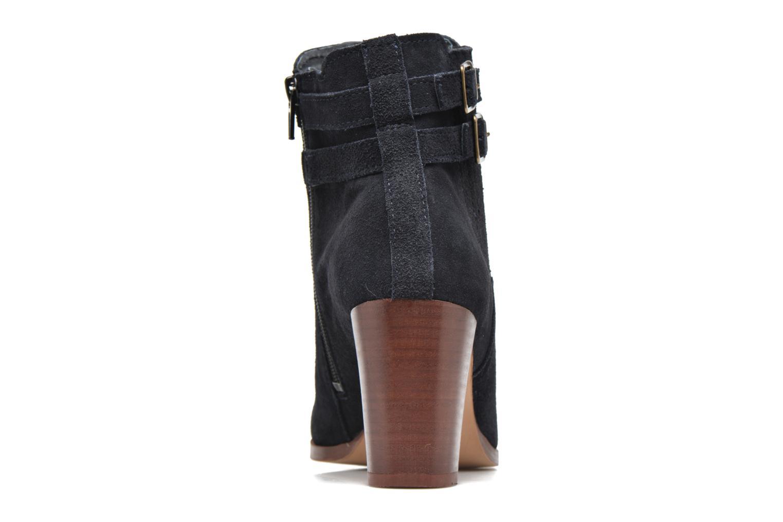 Bottines et boots Georgia Rose Cepari Bleu vue droite
