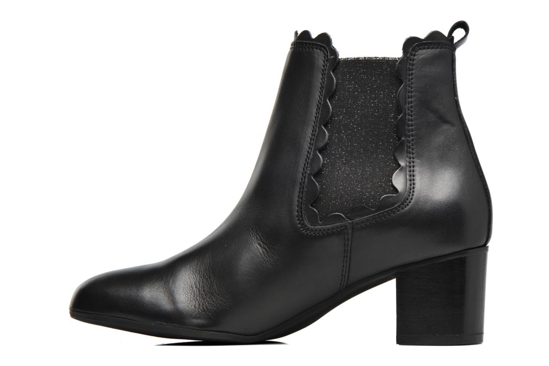 Bottines et boots Georgia Rose Cecroque Noir vue face