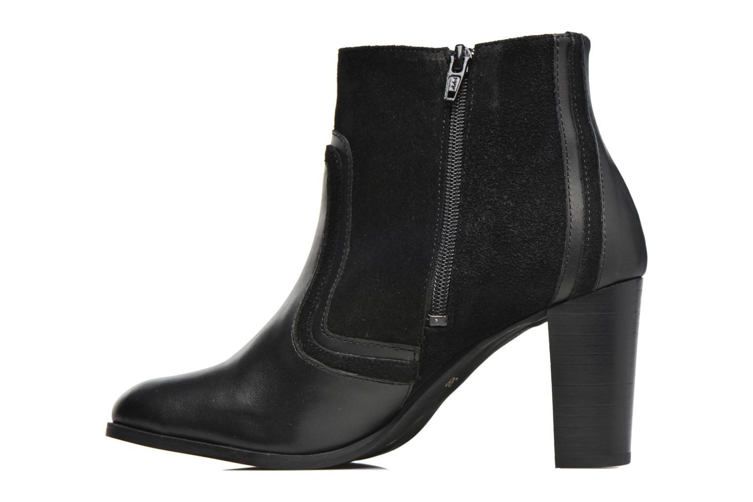 Ankle boots Georgia Rose Cepart Black front view