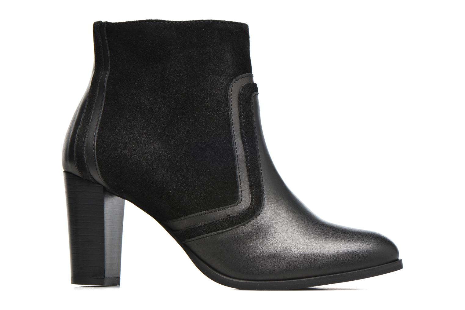 Ankle boots Georgia Rose Cepart Black back view