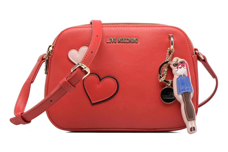 Sacs à main Love Moschino Crossbody Girls & Heart Rouge vue détail/paire
