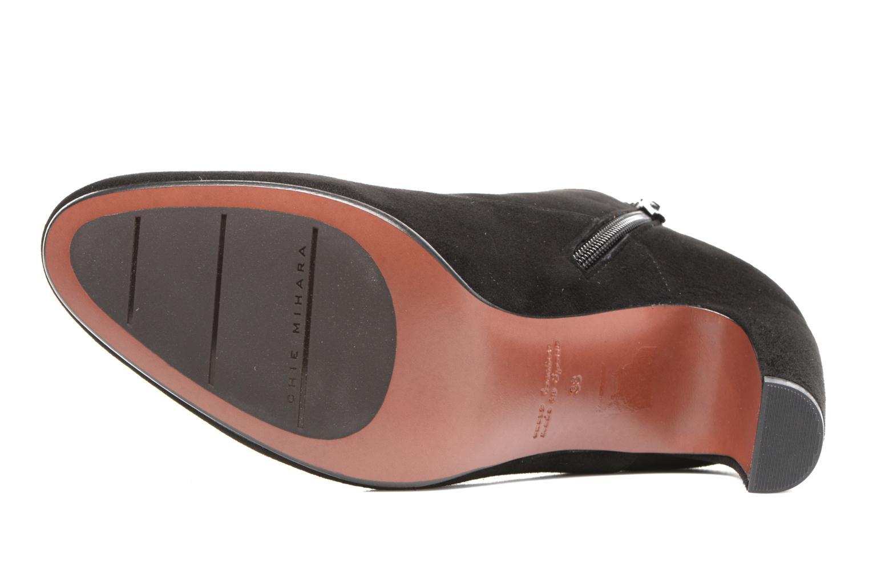 Bottines et boots Chie Mihara X-Fedora 31 Noir vue haut