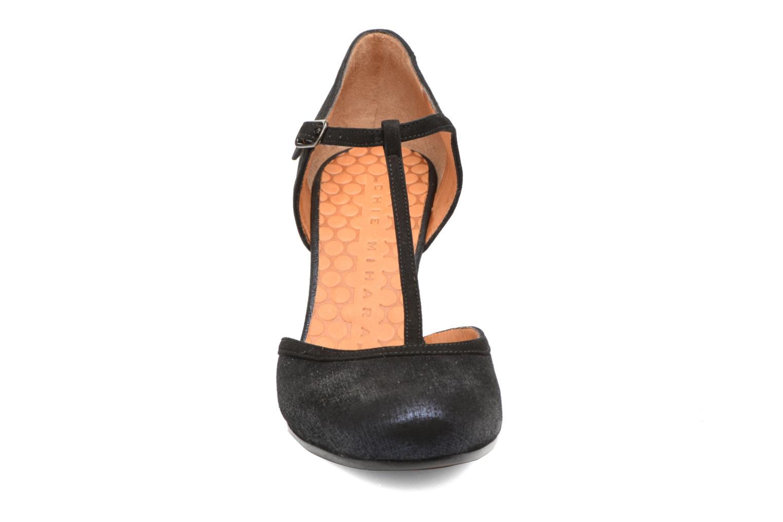 Escarpins Chie Mihara Anie Bleu vue portées chaussures