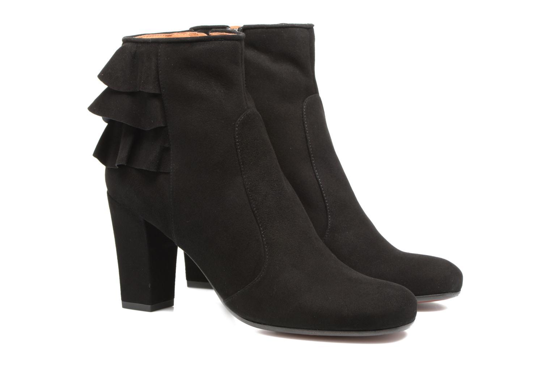Bottines et boots Chie Mihara Acha Noir vue portées chaussures