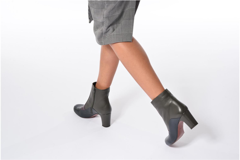 Bottines et boots Chie Mihara Jelus Multicolore vue bas / vue portée sac