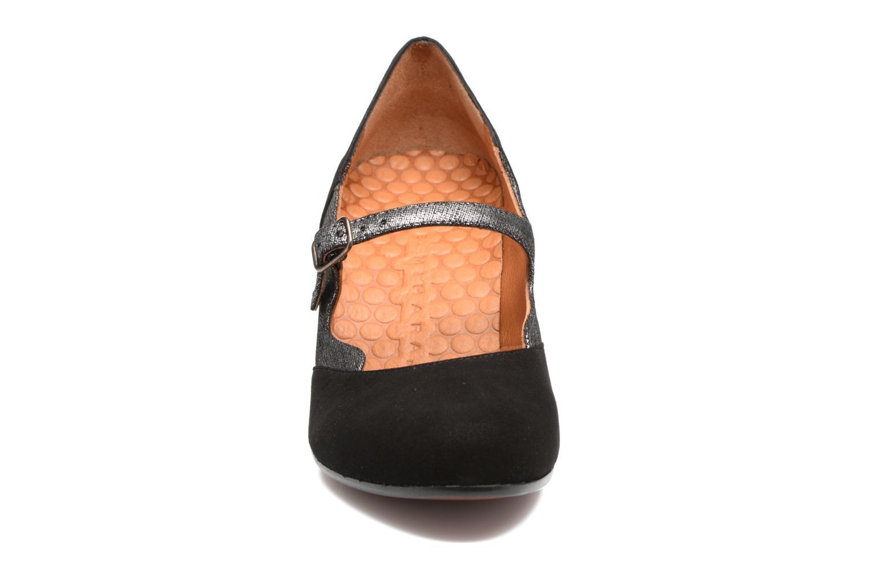 Escarpins Chie Mihara Jesa Noir vue portées chaussures