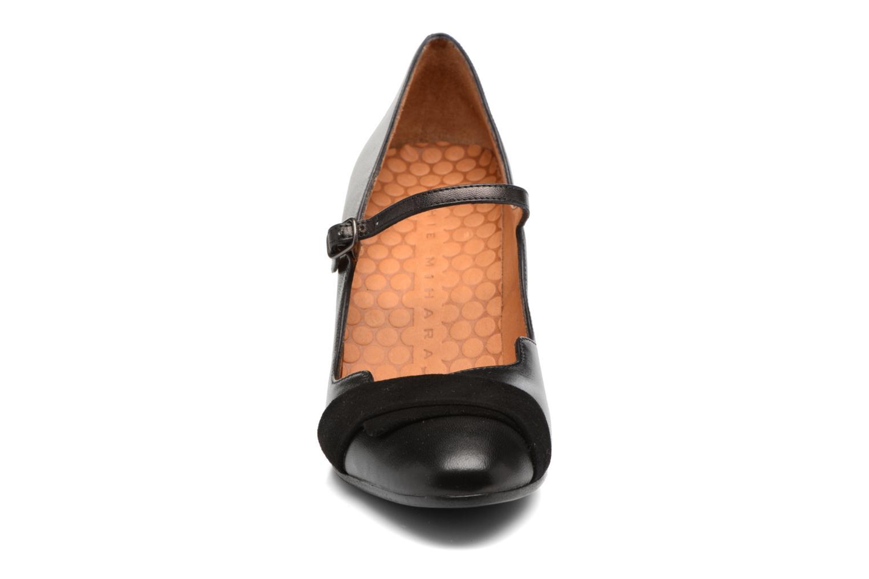 Escarpins Chie Mihara Xisa Noir vue portées chaussures
