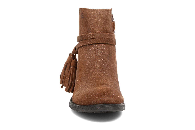 Bottines et boots Acebo's Lolita Marron vue portées chaussures