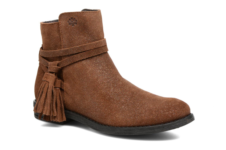 Bottines et boots Acebo's Lolita Marron vue détail/paire