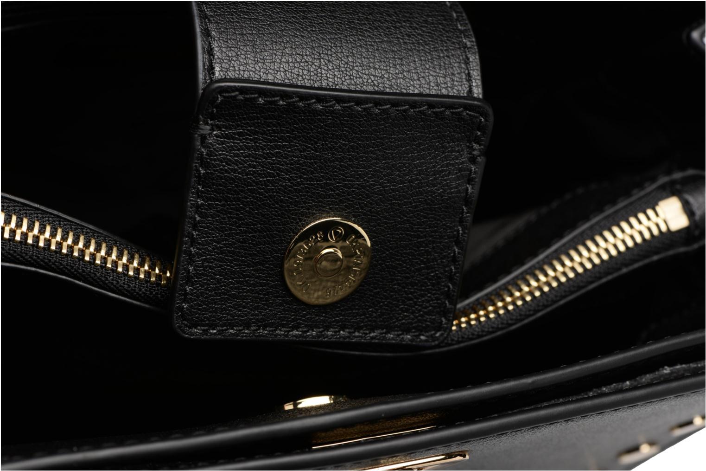 Bolsos de mano Michael Michael Kors Sylvie MD Messenger Negro vista lateral izquierda