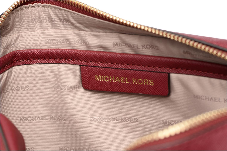 Sacs à main Michael Michael Kors LG EW Crossbody Bordeaux vue derrière