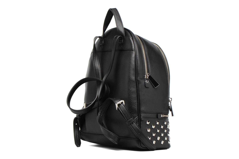 Sacs à dos Michael Michael Kors Rhea Zip FCT STD MD Backpack Noir vue droite