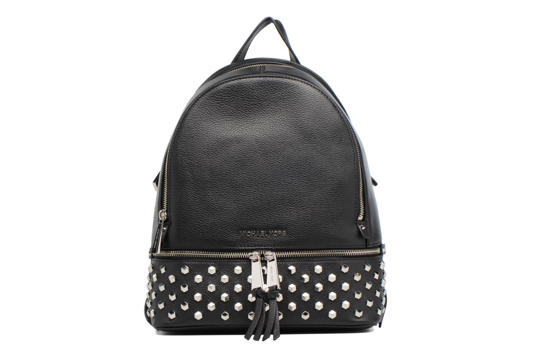 Sacs à dos Michael Michael Kors Rhea Zip FCT STD MD Backpack Noir vue détail/paire