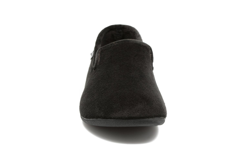 Chaussons Dim D Sidoine Noir vue portées chaussures